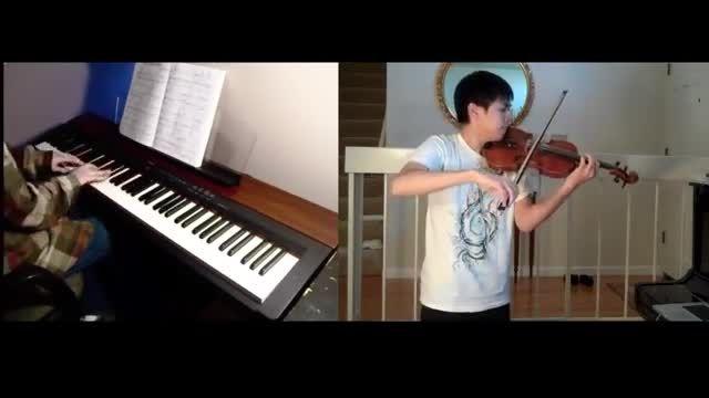 اجرای آهنگ زیبای کارتون «دیو و دلبر» دیزنی