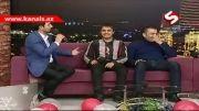 مشاعره طنز آذری متلک پرانی در برنامه زنده-پرویز رشادعلی اکبر