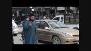 گیج بازی پلیس داعش درخصوص کنترل خیابان:))