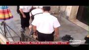 زدن یه ایرانی توسط پلیس ایتالیا و طرفداری مردم از فرد ایرانی