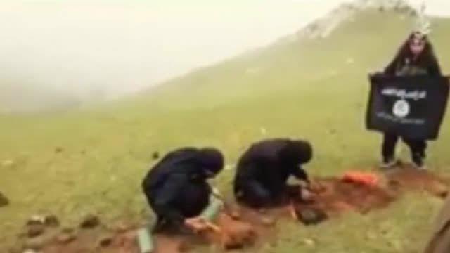 سوریه ...اعدام دسته جمعی داعش