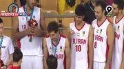 مراسم اهدای جام قهرمانی ایران درکاپ اسیا 2014