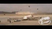 دانلود كلیپ لحظه فرود اضطراری هواپیمای مشهد- زاهدان