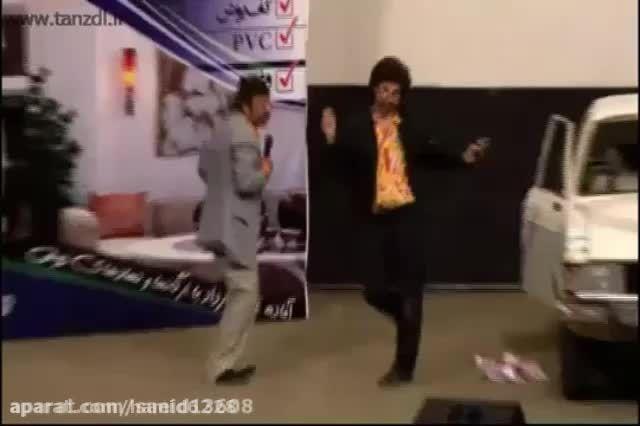 صمد ممد رقص با اهنگ حامد پهلان