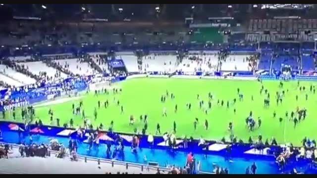 انفجار در پاریس زمان بازی فرانسه با آلمان