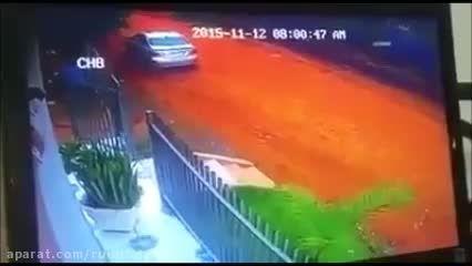 صحنه منزجرانه کشتن همسر بعد خودکشی