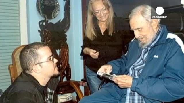 انتشار تصاویرجدید فیدل کاسترو برای پایان دادن به شایعات