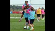 تمرینات شاد بارسا (انتخاب شده توسط خود باشگاه بارسلونا)