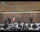 دیدار رهبری با جانبازان مهر 90