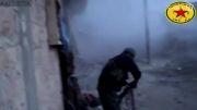 حملات هوایی شدید به داعش + درگیری های خیابانی