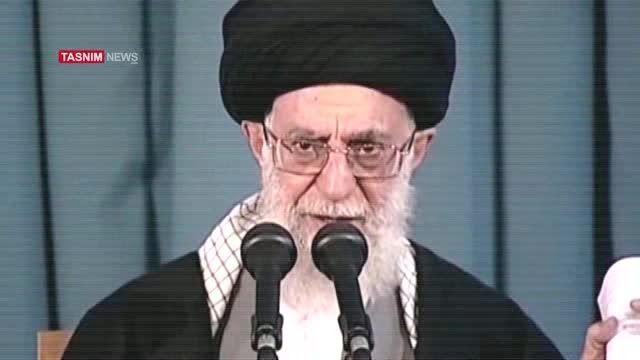 نقطه مقابل . بیانات رهبر انقلاب در مورد توافق هسته ای