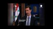 اظهار نظر بشار اسد در باره اردوغان