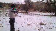 تیراندازی تو یک روز برفی کامفیروز فارس
