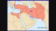 مرز ایران در دوره های مختلف