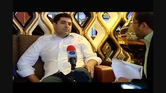 مصاحبه با شهرام جزایری توسط صدا و سیما