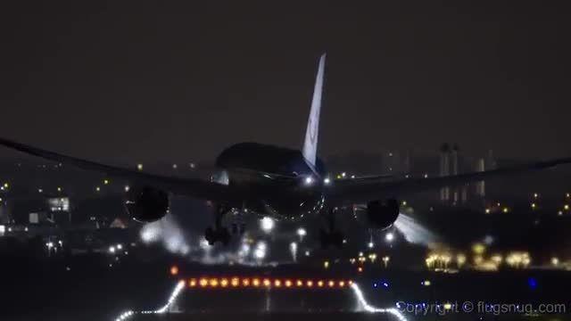 زیباترین تصاویر از پرواز در شب - دنیای مستند پرواز