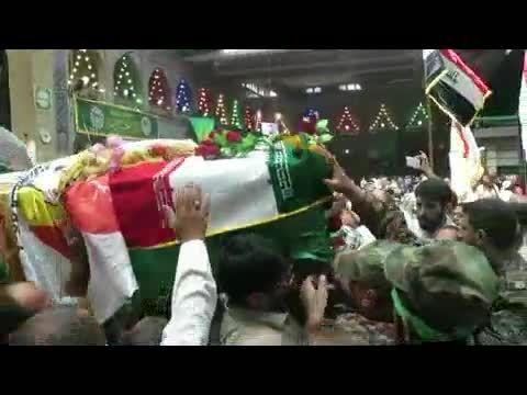 شهید مدافع حرم سیدجاسم نوری