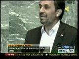 نمایش ساده زیستی احمدی نژاد در تلویزیون اندونزی