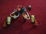 روبات 4 بازوی 2 پا