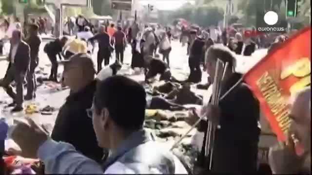 دستکم ۸۶ کشته درپی وقوع دو انفجار در مرکز آنکارا