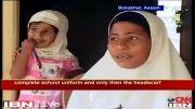 اخراج کودک 4 ساله معصوم بخاطر حجاب از مهدکودک
