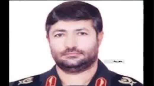 محل شهادت سردار الله دادی و همراهان در قنیطره سوریه