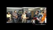 محمدرضا گلزار در پشت صحنه فیلم تو من 3