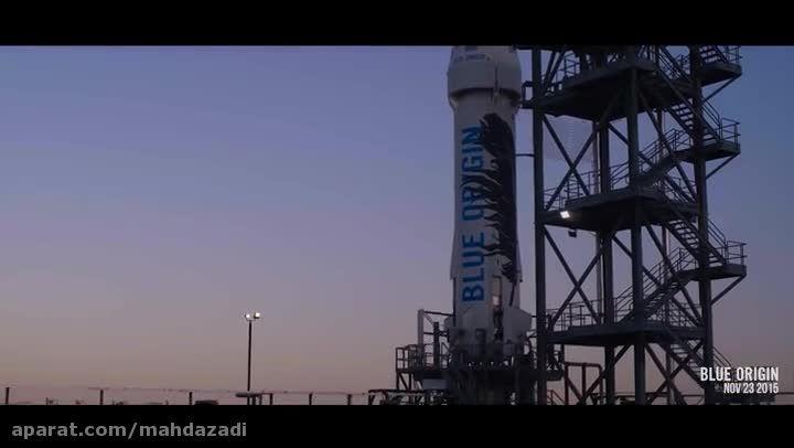 فرود موفقیت آمیز راکت فضایی موسس آمازون