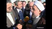 ورود آقای روحانی به نیویورک