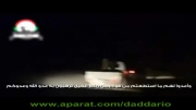 هدف قرار گرفتن کاروان تروریست ها توسط جنگنده ارتش سوریه