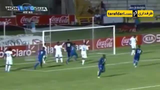 گلزنی مهاجم پرسپولیس در برابر گواتمالا