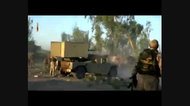 تازه ترین تصاویر از نبرد با داعش در فلوجه عراق