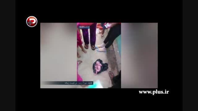 فیلمی تکان دهنده از لحظه کشف نوزاد زنده در کیسه زباله