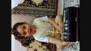 علی آقای مبلّغ ناصری در حال قرائت قرآن (خنده دار)