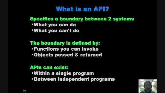 آشنایی با نحوه طراحی API