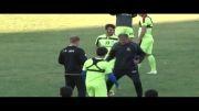 تمرین تیم ملی فوتبال ایران - آفریقای جنوبی