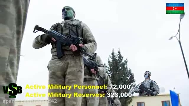 قدرت نظامی جمهوری آذربایجان 2015