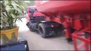 دور زدن با کامیون در کمترین فضا