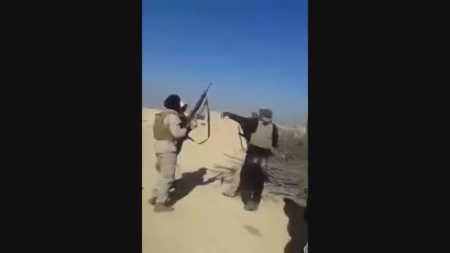 اعدام 3 داعشی توسط مردان قبیله الجغایفة در عراق