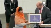 جایزه صلح نوبل به دو نفر تعلق گرفت