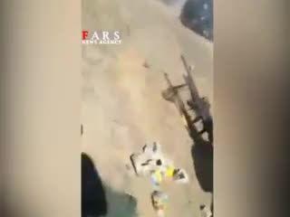 درگیری نیروهای عراقی با داعش در صلاح الدین/شهادت رزمنده