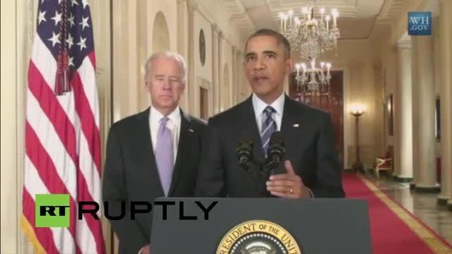 صحبت های رییس جمهور امریکا پس از توافق نهایی