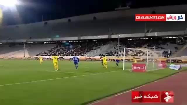 حواشی بازی استقلال-نفت مسجد سلیمان