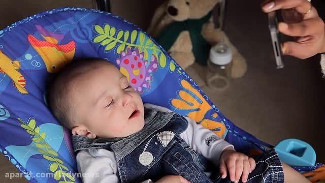 شیوه های بامزه برای آرام کردن کودکان