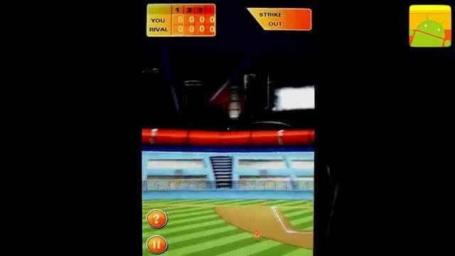 گیم پلی بازی اندرویدی Baseball Hero
