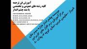 آموزش فن ترجمه-موسسه چشم انداز -دکتر بن شمس