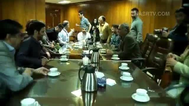 دیدار امیرحسین تتلو با جانبازان  جنگ
