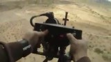 رگبار گلوله از هلیکوپتر