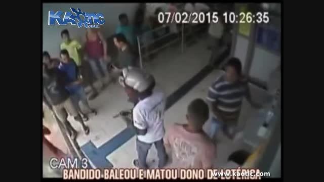 سرقت مسلحانه از یک صرافی و کشته شدن یک نفر