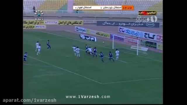 استقلال خوزستان ۴-۰ استقلال اهواز
